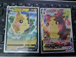 037/072 & 038/072 Morpeko V & Vmax Shining Fates Pokemon Cards Sword & Shield