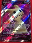 Mimikyu V 148/163 - Battle Styles - Full Art Pokemon Card - NM Condition