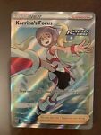Korrina's Focus Rapid Strike Full Art Battle Styles 160/163 Pokémon MINT