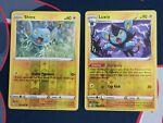 Pokemon Shining Fates 031/072 Shinx and 032/072 Luxio Reverse Holo Near Mint NM