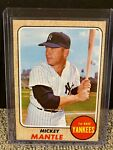 1968 Topps Mickey Mantle # 280 EX-MT Condition