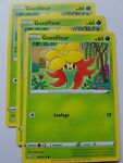 3 x 014/072 Gossifleur Common Card Pokemon Shining Fates Mint