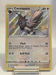 Corvisquire SV102/122 Shiny Holo Rare Pokémon Shining Fates NM