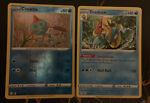 Pokemon Shining Fates - Chewtle 026/076 Rev Holo Drednaw 027/072 Rare