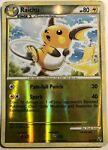 Pokemon Undaunted Reverse Holo Raichu 33/90 Sleeve And Toploader FREE Shipping