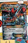 Pokemon TCG Mega M Scizor EX 77/122 XY Breakpoint Ultra Rare NM