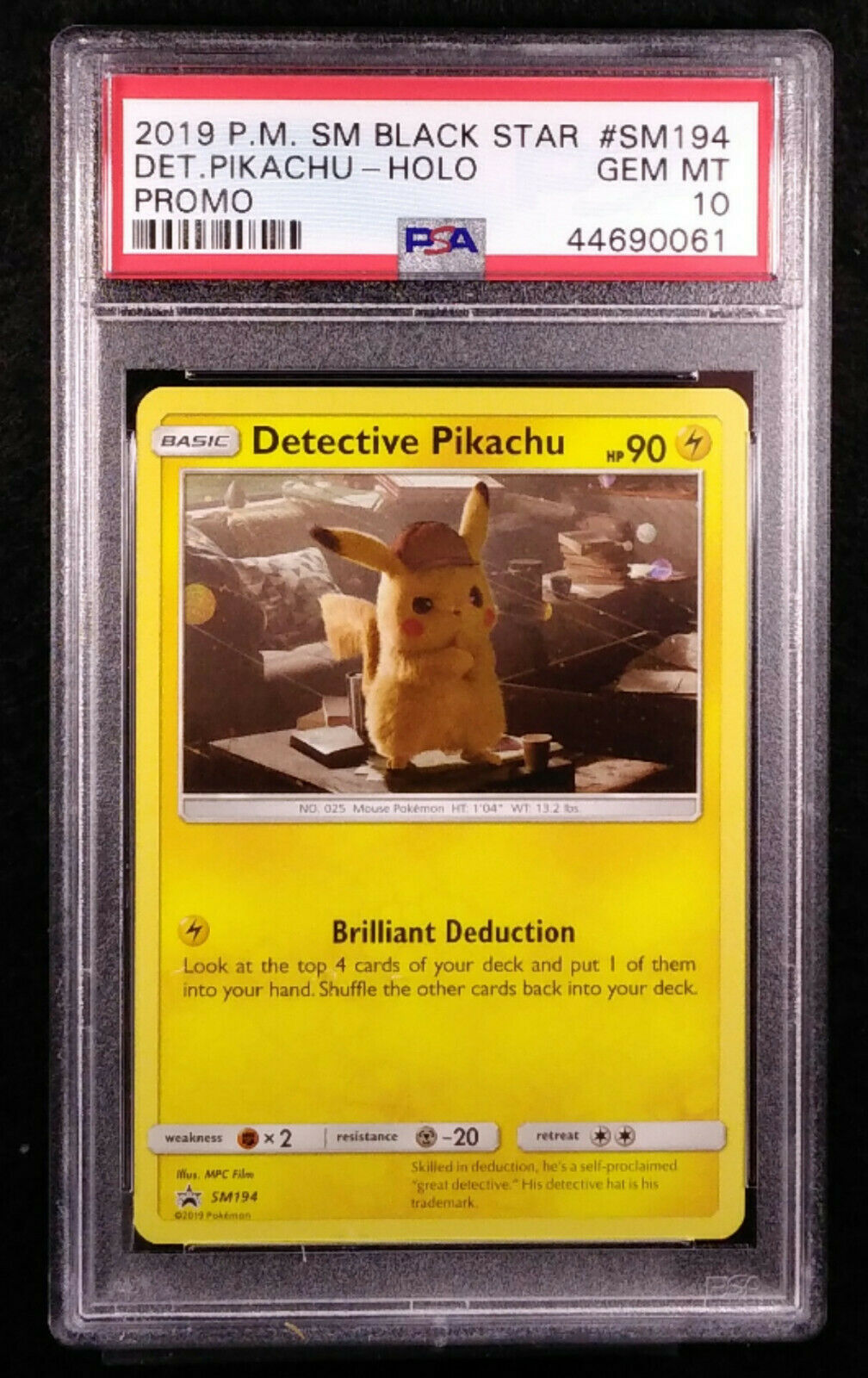 Promo Opened Near//Mint Unopened Detective Pikachu Cards