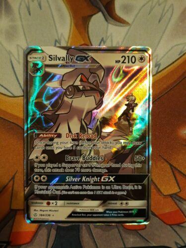 Silvally GX Cosmic Eclipse ULTRA RARE 184//236 Pokemon Card NM//MT