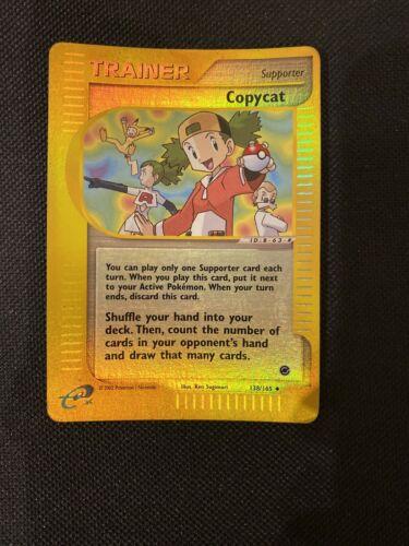 Copycat 138//165 Non Holo Pokemon Card Unlimited Expedition Base Set EX
